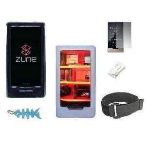 Zune HD 16GB / 32GB Series Includes Clear Crystal Snap On Hard Case