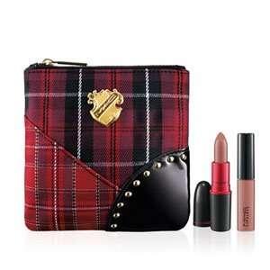 MAC A Tartan Tale   Tis Noble to Give Viva Glam V Lip Bag