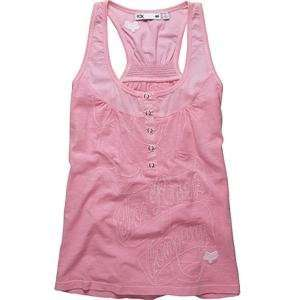 Fox Racing Womens Double Dip Tank Top   Medium/Pink