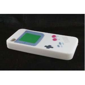 Apple iPhone 4 / 4S Skin Case Cover for White Gameboy