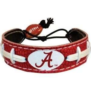 Sports Alabama Crimson Tide Bracelet   A Team Color Football