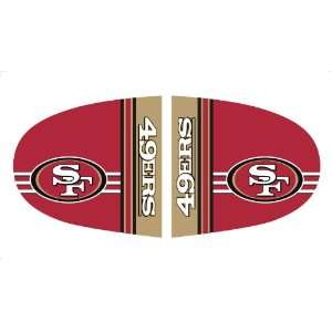 Fanmats 11890 NFL Small San Francisco 49ers Mirror Cover