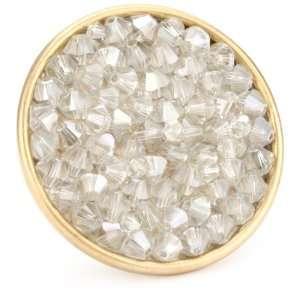 Liz Palacios Lunas Large Circle Moonlight Rock Crystal