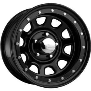 Pacer Street Lock 15x12 Black Wheel / Rim 5x5.5 with a  63mm Offset