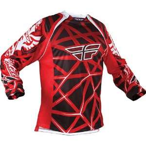 Fly Racing Evolution Youth Motocross MX Jersey Red/Black