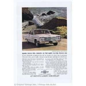 1964 Chevrolet Impala Super Sport Coupe White Vintage Ad