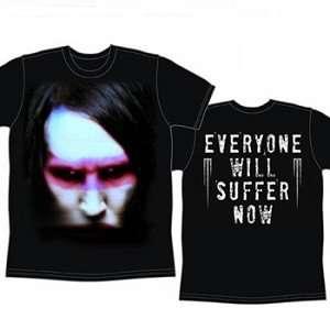Marilyn Manson Suffer T Shirt Clothing