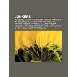Junkers: Aeronaves de Junkers, Motores Junkers, Junkers Ju 87, Junkers