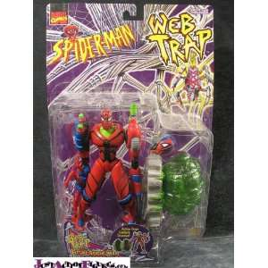 SpiderMan Web Trap Future Spider Man: Toys & Games