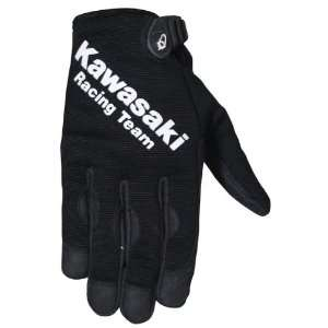 JOE ROCKET KAWASAKI ZX CREW GLOVES BLACK MD: Automotive