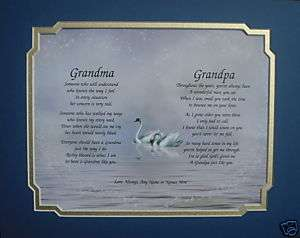 GRANDMA & GRANDPA PERSONALIZED POEMS CHRISTMAS GIFT