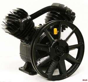 AIR COMPRESSOR PUMP 3 HP MOTOR 140PSI TWIN CYLINDER