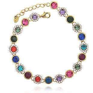 Genuine Swarovski Crystal Element Multi Colro Gem Exquisite Style