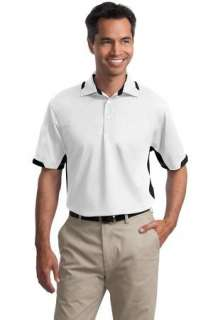 Port Authority Dry Zone Colorblock Ottoman Sport Shirt
