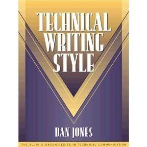 D. Joness S. Draggas Technical Writing Style (Part of the Allyn