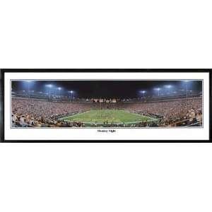 Green Bay Packers Football Team Monday Night NFL Stadium Panoramic