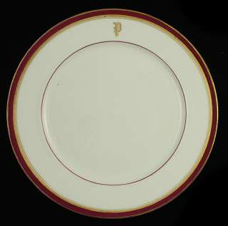 10 NICE 1870s PARIS PORCELAIN GILT DINNER PLATES