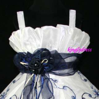 NEW Flower Girl Pageant Wedding Bridesmaid Princess Party Dress Wears