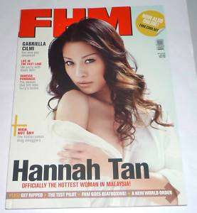 FHM MALAYSIA Oct 10 HANNAH TAN Jean Thor Hot Asian