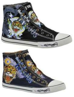 ED HARDY HIGHRISE 100 MENS HIGH TOP SNEAKER SHOES
