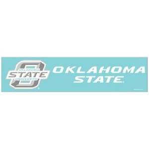 NCAA Oklahoma State Cowboys 4x16 Die Cut Decal