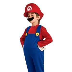 Super Mario Kids Deluxe Halloween Costume 3 4 years Toys & Games