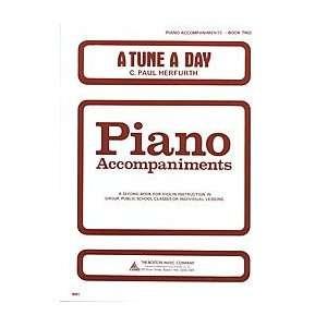 A Tune a Day   Violin Piano Accomp. Book 2 Sports