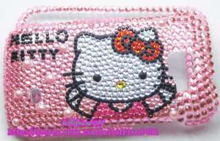 Hello kitty Bling Case Cover For Samsung Transform M920 #6