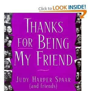 For Being My Friend (Quote A Page) (9780836282979): Spaar: Books