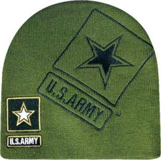 US Armed Forces Beanie Skull Cap Hat   Air Force, Army, Marines, Navy