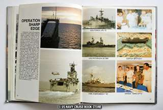 USS SUMTER LST 1181 MEDITERRANEAN CRUISE BOOK 1990