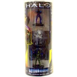 Halo ActionClix Trading Miniature Figure Game Blue Spartan
