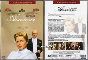 Anastasia (1956) DVD, NEW!! Ingrid Bergman, Yul Brynner