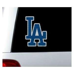Los Angeles Dodgers Die Cut Window Film   Large Catalog