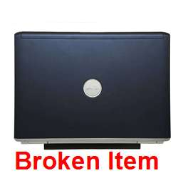 Dell Inspiron 1420 Core 2 Duo 2.4GHz BROKEN   Black