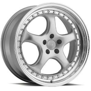 18x9.5 Privat Kup (Silver w/ Machined Lip) Wheels/Rims