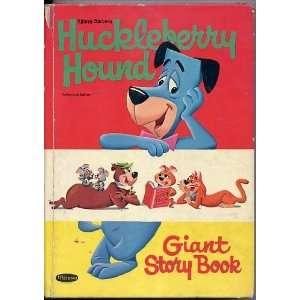 Hanna Barbera Huckleberry Hound Giant Story Book Eileen