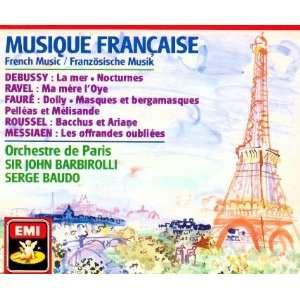 Messiaen, Sir John Barbirolli, Serge Baudo, Orchestre de Paris Music