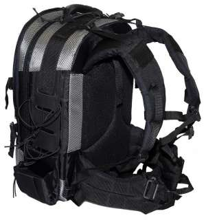 Padded waist guard and molded back panel for added comfort. Can be