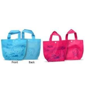 Hello Kitty Mini Tote Bag Set (Blue & Hot Pink