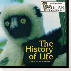 The History of Life CD ROM for Windows. Science Educational Software