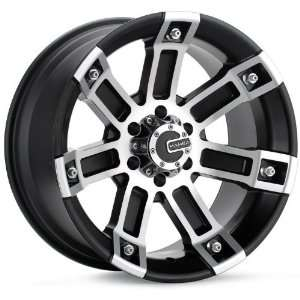 17x8 Mamba Type M1 (Black / Machined) Wheels/Rims 5x114.3 (MAMM1 7865B