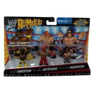 WWE Wrestling Rumblers Exclusive Mini Figure 3Pack Kofi