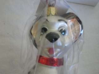 RADKO Disney Original LUCKY Dog Dalmation Animal Pet Christmas