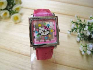 New HelloKitty Lovely Ladies Quartz Watch Wristwatch sq