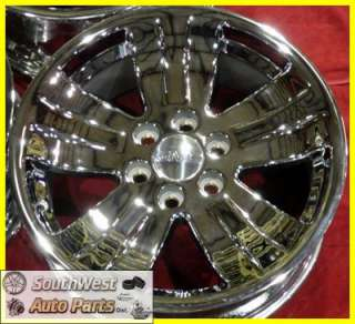 07 08 09 10 11 GMC SIERRA YUKON 20 CHROME TAKE OFF WHEELS FACTORY OEM