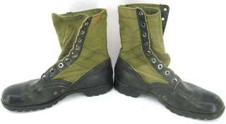 1967 Vietnam War era jungle combat boots size 10R 10 regular