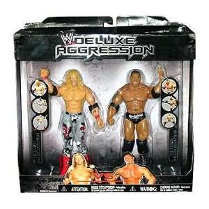 WWE Wrestling Exclusive DELUXE Aggression Action Figure 2 Pack Edge