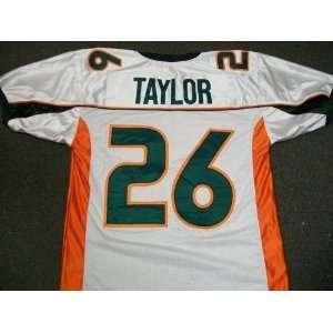 premium selection c7413 d897f authentic sean taylor miami jersey