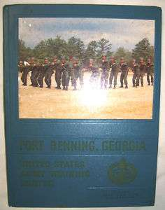 1969 US Army Infantry Training Fort Benning GA Yearbook